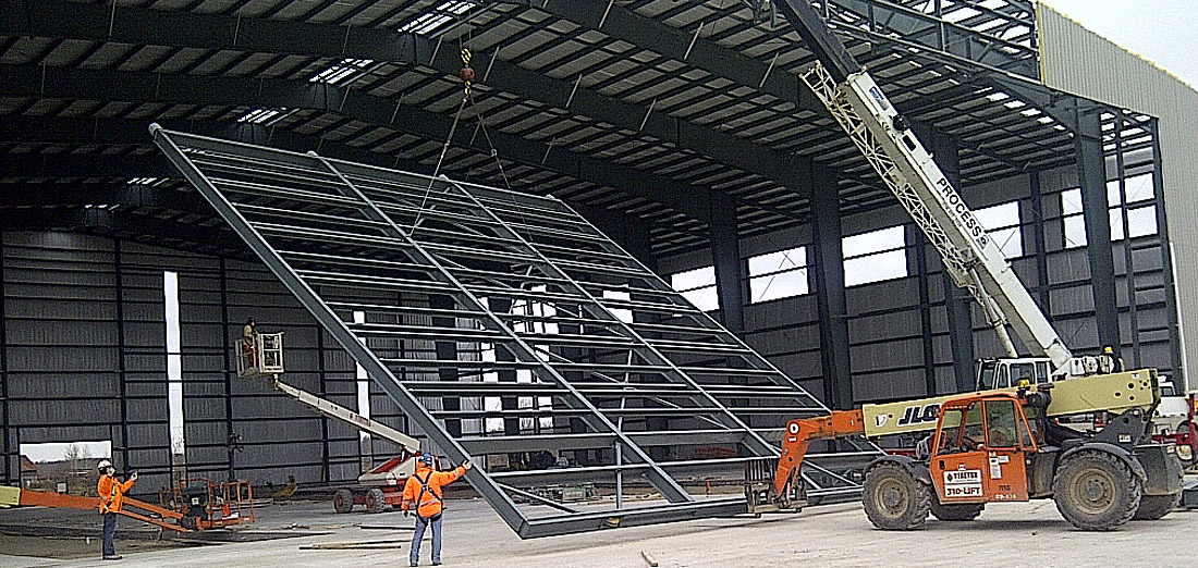 Hangar Door Installation